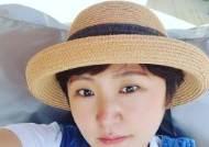 '싱글맘' 김현숙, 가족과 경주로 힐링여행 '행복한 미소'