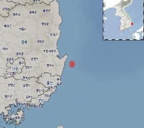 """기상청 """"경북 포항 남구 동남동쪽서 규모 2.0 <!HS>지진<!HE> 발생"""""""