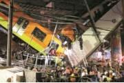 [사진] 멕시코 고가철도 붕괴 … 최소 23명 사망