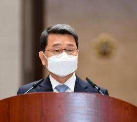 """檢출신 박상옥 대법관 퇴임…""""정치적 중립 의지 굳건해야"""""""