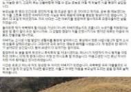 """""""아버지와 때늦은 화해"""" 이재명 글에…김부선 """"또 감성팔이"""""""