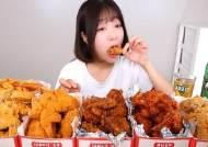 """쯔양, 대놓고 치맥 앞광고? """"맥주 2병엔 치킨 5마리 필요해"""" 폭풍 흡입"""