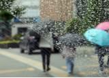 출근길 곳곳에 빗방울…강수 영향에 미세먼지 '좋음'