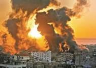 [view] 이스라엘, 13층 아파트 폭격…하마스, 로켓포 또 수백발 보복