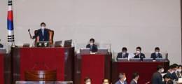 국회, 찬성 168·반대 5·기권 1 김부겸 국무총리 임명동의안 가결