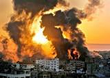 <!HS>이스라엘군<!HE> 가자지구 공습…AP통신 입주한 12층 건물 파괴
