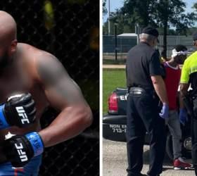 <!HS>UFC<!HE> 랭킹 2위 車 노린 '얼빵 도둑'…주먹 한방에 KO 당했다 [영상]