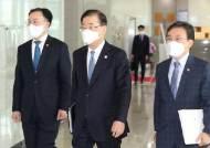 """미군철수 포함한 北 비핵지대화···정의용 """"한국과 입장 차 없다"""""""
