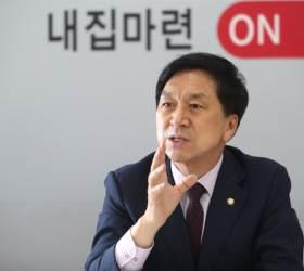 """김기현 """"외통·정무위장 줄 수 있다고? 우리가 구걸하고 있나"""""""