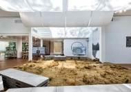 베니스비엔날레 건축전 한국관에 갈대로 만든 카펫이...