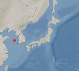 """기상청 """"충남 태안 서격렬비도 남서쪽서 규모 2.2 <!HS>지진<!HE> 발생"""""""