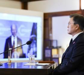 """文 """"참석 환영"""" 발언에도 바이든 P4G 불참…中은 <!HS>리커창<!HE> 참석"""