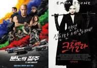 [박스오피스IS] 외화가 점령한 극장가…'분노의 질주9'·'크루엘라' 흥행 질주