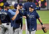 '최근 17G 16승' 탬파베이, MLB 파워랭킹 2위 급부상