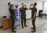 """""""미지근한 물은 그만""""…국방부, 전군에 냉장고 1만여대 보급"""
