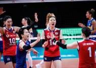 한국, VNL 5연패 수렁…이소영 양 팀 최다 20점 분전