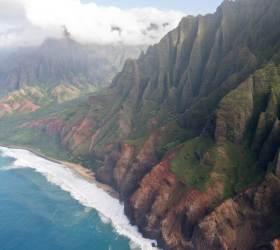 [<!HS>한<!HE> <!HS>컷<!HE> <!HS>세계여행<!HE>] 수천겹 협곡, 500만년 전 하와이의 속살