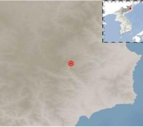 """북한 함경북도 길주 북북서쪽서 규모 2.5 <!HS>지진<!HE>…""""자연<!HS>지진<!HE>"""""""