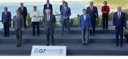 맨앞줄이 韓위상? 노타이 사고? 매뉴얼 모르는 'G7 억지' 판친다