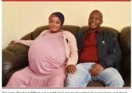 """열쌍둥이 낳았다는 남아공 여성···남친은 """"애들 못봐, 가짜출산"""""""
