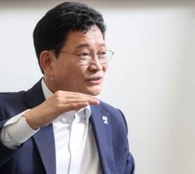 """송영길 """"'<!HS>민주당<!HE> 20년 집권론' 걱정된다…오만해 보일 수도"""""""