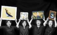 보육원에 그림 1000점 '예술봉사단'