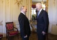 바이든, 푸틴 면전에서 '인권·해킹' 정면 경고했다