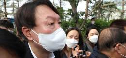 """윤석열 """"국가 위한 큰 정치만 생각"""" 입당·검증 비판에 '마이웨이' 선언"""