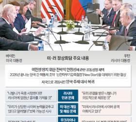 """바이든 """"<!HS>러시아<!HE>, 중국 때문에 찌그러져"""" 중·러 갈라치기"""