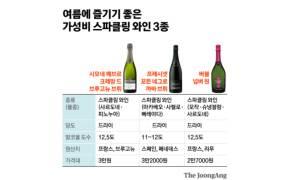 여름에 즐기는 톡 쏘는 청량감…가성비 대박 스파클링 와인