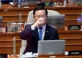 """첫 등판 김부겸, 윤석열·최재형 대선 출마 묻자 """"비정상적"""""""