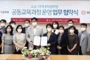경인여대, 인천시교육청과 고교학점제 과정 업무 협약 체결