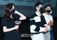 [포토] 진기주-위하준-박훈, '미드나이트' 주연 배우들의 긴장된 눈빛