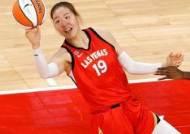 WNBA 박지수 3득점·2리바운드...라스베이거스 선두 꿰찼다