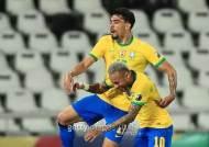 '무패행진' 브라질, 페루 누르고 코파 결승행...'브라헨티나' 격돌하나