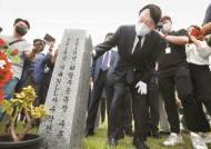윤석열, 첫 민심탐방은 대전…민노당 출신 주대환도 만났다
