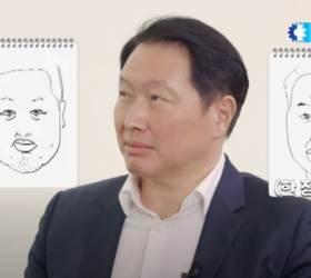 <!HS>최태원<!HE> 회장, 하카소의 '동네 형님' 캐리커쳐에 빵 터졌다