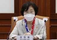 """정영애 여가부 장관 """"여가부 폐지? 오히려 기능 더 확대돼야"""""""