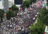 민주노총 3명 확진, 이와중에 23일 원주서 1200명 집회추진