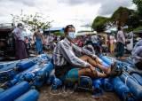 """""""수퍼 전파국"""" 경고···눈 껌뻑 않고 전염병 무기 삼는 미얀마 군부"""