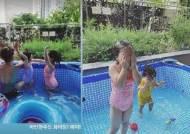 '치과의사♥' 이윤지, 딸들과 시원한 물놀이에 행복 그 자체!