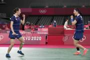 배드민턴 여자 복식 동메달 확보…2개조 모두 준결승 진출