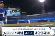 "MBC가 또…야구 6회인데 ""한국, 4-2 패"" 경기종료 황당자막"