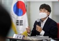 """페미 논란에 소환된 이준석 """"안산 선수와 모든 선수 응원"""""""