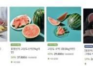 수박 한통 4만원 육박하기도…육계·여름과일·채소 가격 ↑