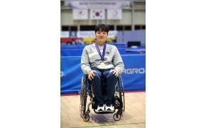 경기도 전국장애인체전 우승, MVP는 탁구 3관왕 윤지유