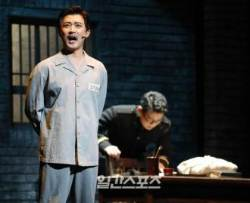 [포토]영웅 안재욱, 옥중에도 당당한 도마 안중근