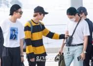 [포토] '방탄소년단' 진, 제이홉 가방 너무귀여워!