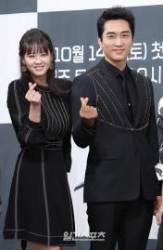 [포토]고아라-송승헌, '천계를 거스르는 커플'