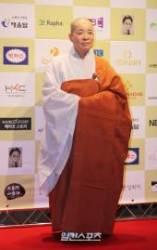 [포토]황금촬영상 영화제 참석한 대해스님